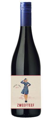Pinotage/Shiraz, 2018, Western Cape, Zuid-Afrika, Rode wijn