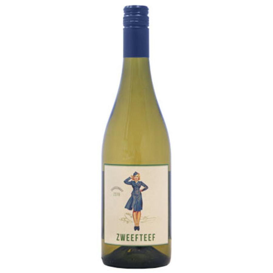 Zweefteef, Chardonnay, 2019, Western Cape, Zuid-Afrika, Witte wijn