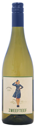 Zweefteef Chardonnay, 2020, Western Cape, Zuid-Afrika, Witte wijn