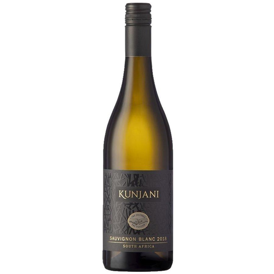 Kunjani,  Sauvignon Blanc, 2018, Paarl, Zuid-Afrika, Witte wijn