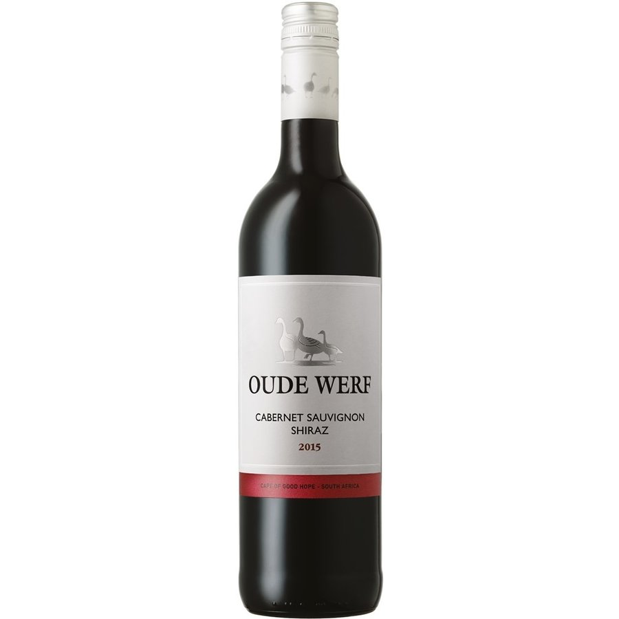 Oude Werf, Cabernet Sauvignon-Shiraz, 2018, Coastal Region, Zuid-Afrika, Rode wijn