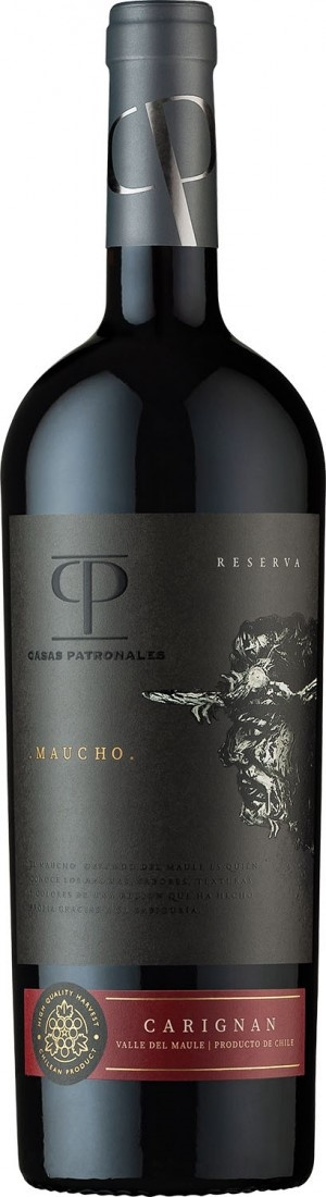 Casas Patronales Maucho Reserva, Carignan, 2018, Chili, Rode wijn