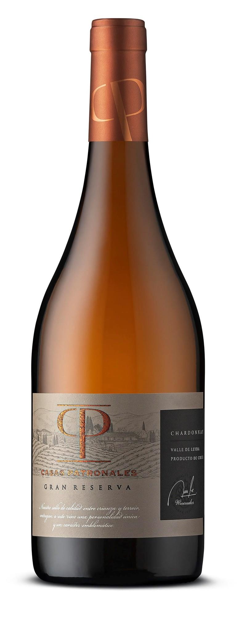 Casas Patronales Gran Reserva, Chardonnay, 2018, Leyda Valey, Chili, Witte Wijn