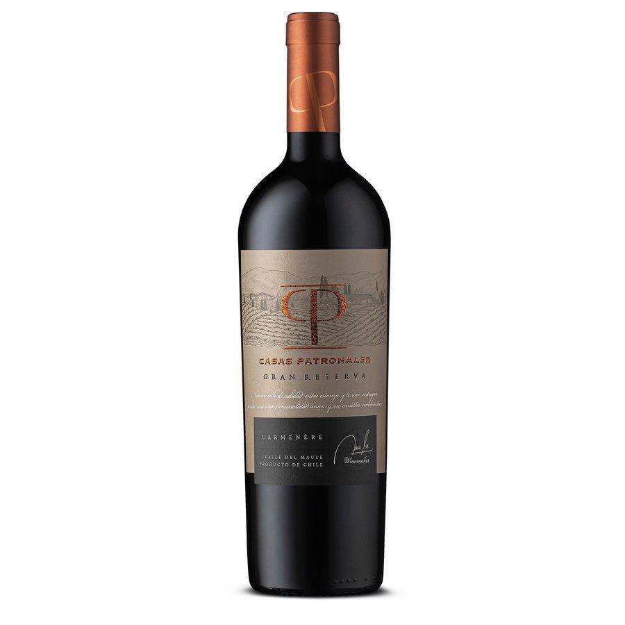 Casas Patronales, Gran Reserva Carmenère, 2018, Maule Valley, Chili, Rode Wijn