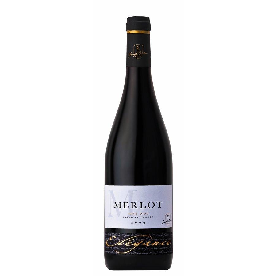 Joseph Castan, Elegance Merlot, 2020, Languedoc, Frankrijk, Rode wijn