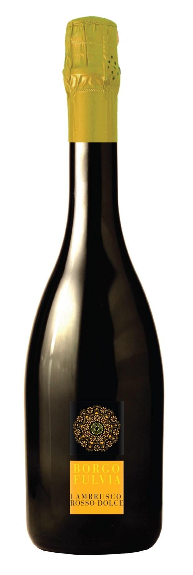 Borgofulvia Lambrusco Rosso, Itali�, Mousserende wijn
