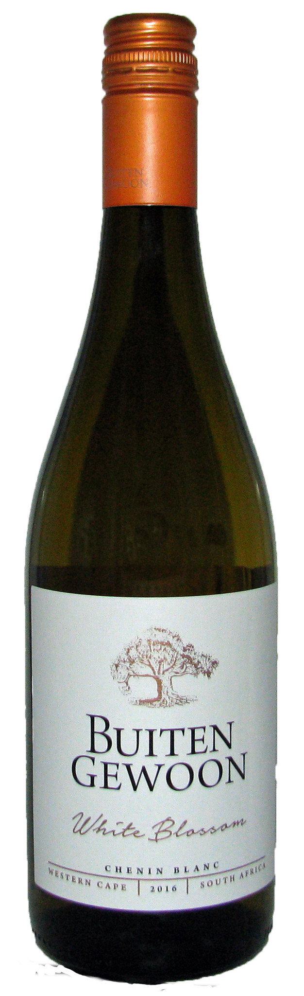 Buitengewoon White Blossom, Chenin Blanc, 2020, Western Cape, Zuid-Afrika, Witte wijn