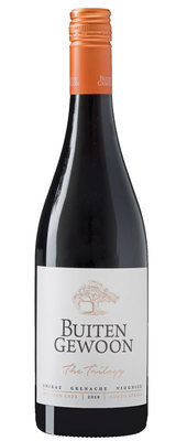 The Thrilogy 'Shiraz Grenache Viognier', 2018, Western Cape, Zuid-Afrika, Rode wijn