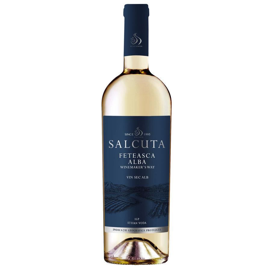 Salcuta, Winemakers Way, Feteasca Alba, 2019, Salcuta, Moldavië, Witte wijn