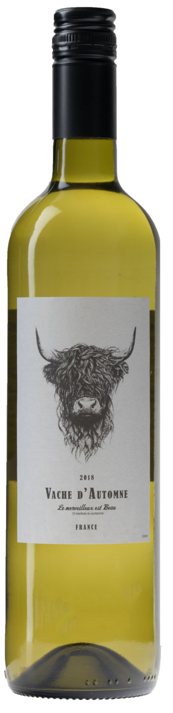 Vache d'Automne Gascogne Blanc, 2019, Gascogne, Frankrijk, Witte wijn