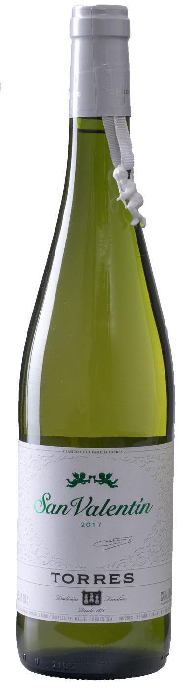 San Valentin Semi Dry White, 2020, Penedes, Spanje, Zoete wijn