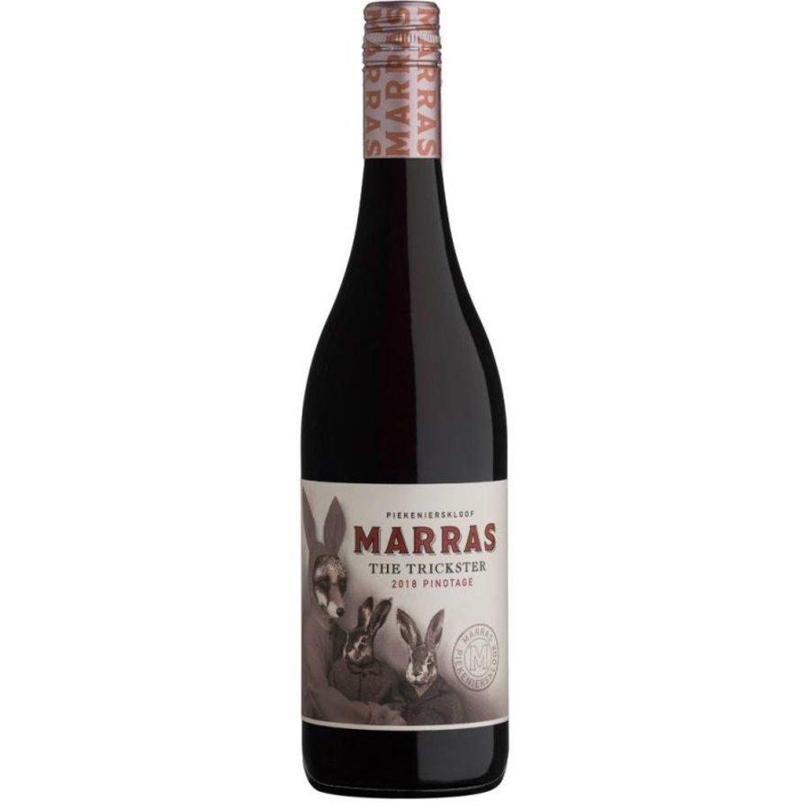 Marras, Pinotage The Trickster, 2018, Piekenierskloof, Zuid-Afrika, Rode wijn