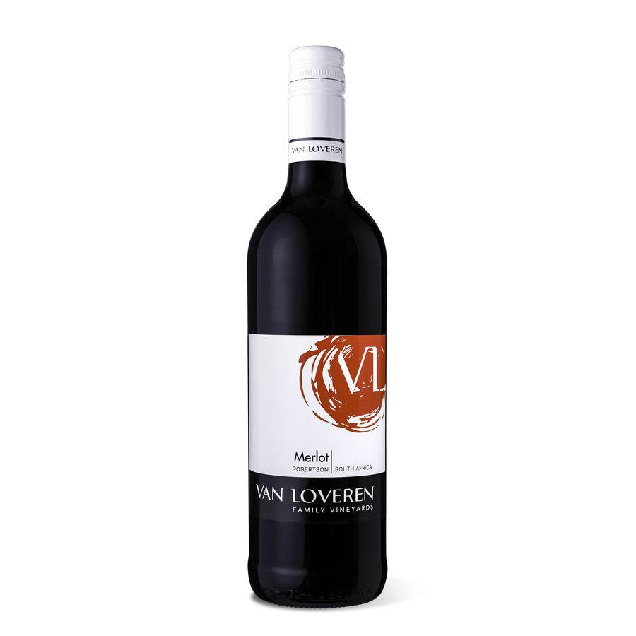 Van Loveren, Merlot, 2019, Robertson, Zuid-Afrika, Rode Wijn