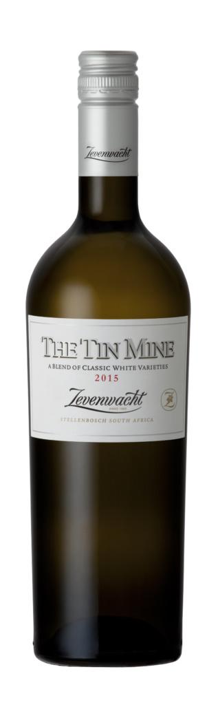 Zevenwacht Wine Estate The Tin Mine Classic White, 2018, Stellenbosch, Zuid-Afrika, Witte Wijn