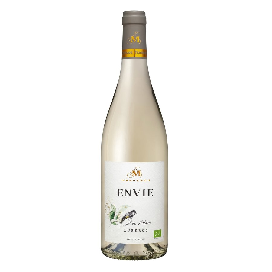 Marrenon, Envie de Nature Bio Blanc, 2020, Luberon, Frankrijk, Witte wijn
