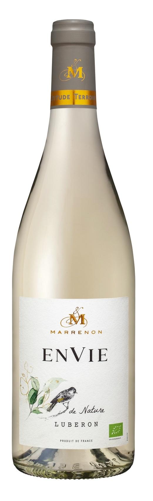 Marrenon Envie de Nature Bio Blanc, 2020, Luberon, Frankrijk, Witte wijn