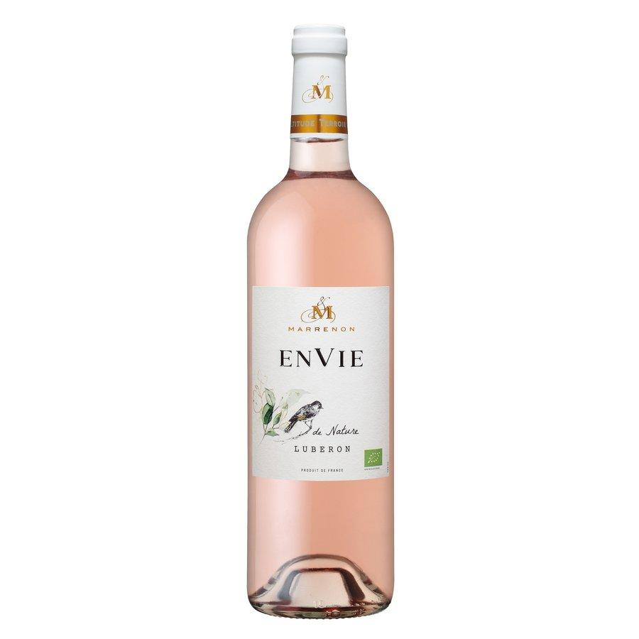 Marrenon, Envie de Nature Bio Rosé, 2020, Luberon, Frankrijk, Rosé wijn