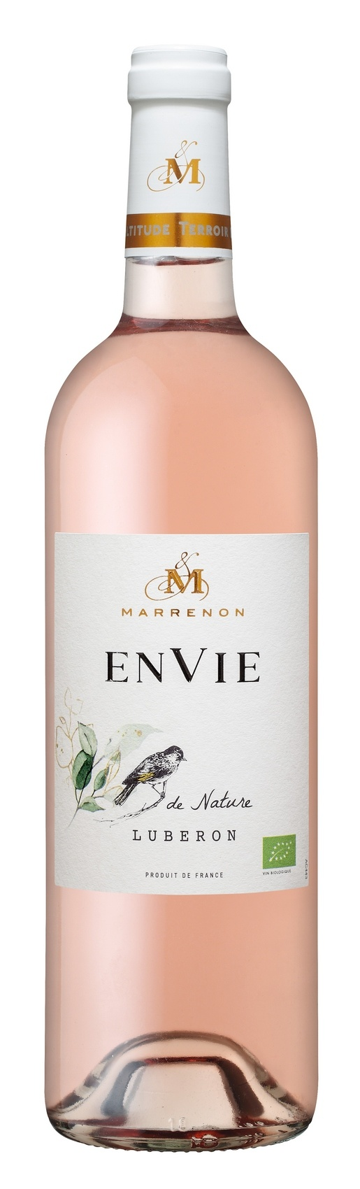 Marrenon Envie de Nature Bio Rosé, 2020, Luberon, Frankrijk, Rosé wijn