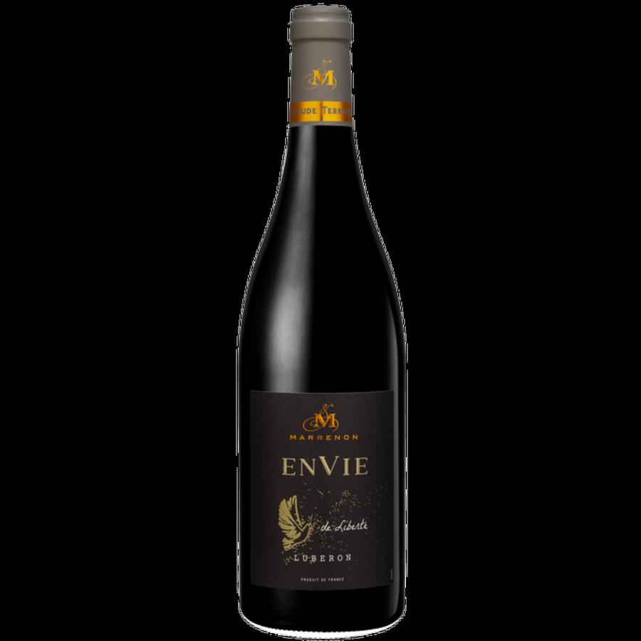 Marrenon, Envie de Nature Bio Rouge, 2019, Luberon, Frankrijk, Rode wijn