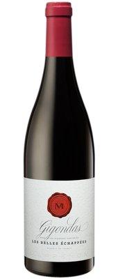 Les Belles Echappées Gigondas, 2017, Gigondas, Frankrijk, Rode wijn