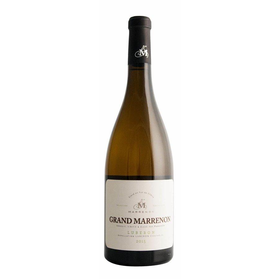 Marrenon, Grand Marrenon Blanc, 2019, Luberon, Frankrijk, Witte wijn