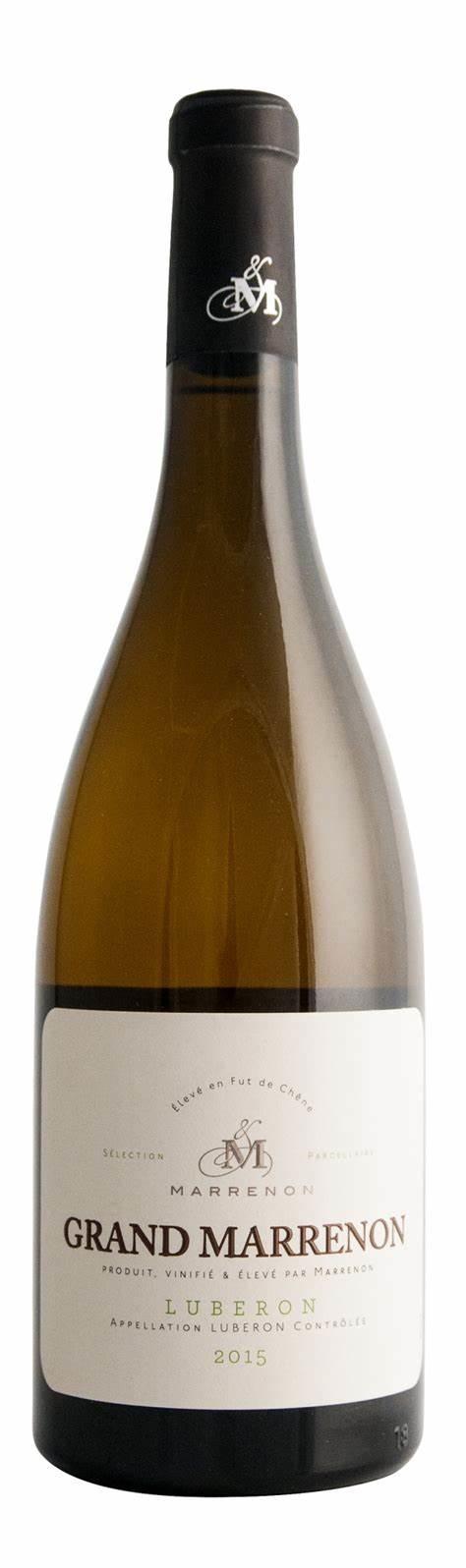 Marrenon Grand Marrenon Blanc, 2019, Luberon, Frankrijk, Witte wijn