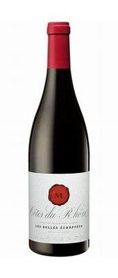 Les Belles Echappées Côtes du Rhône, 2018, Côtes du Rhône, Frankrijk, Rode wijn