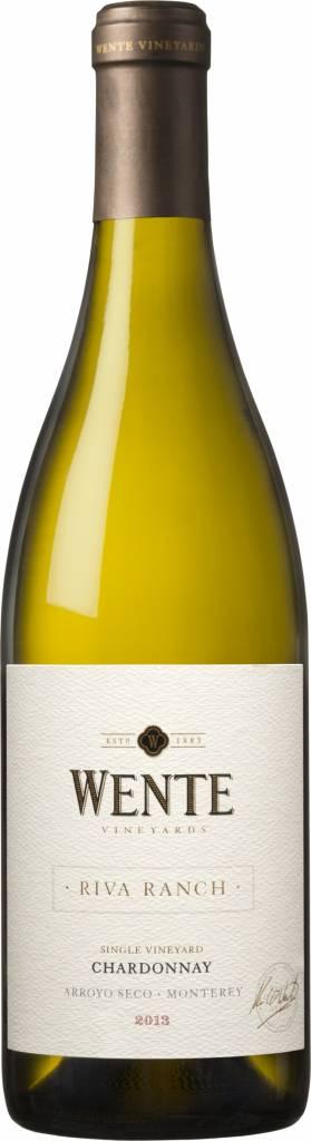 Wente Riva Ranch Chardonnay, 2019, California, Verenigde Staten, Witte Wijn