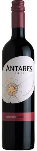 Antares Carmenere, 2017, Central Valley Region, Chili, Rode Wijn