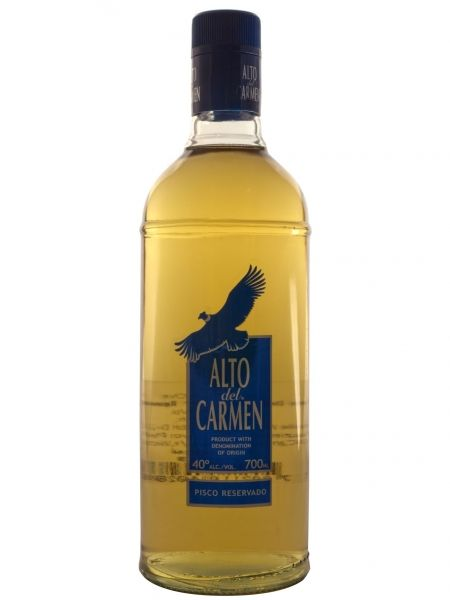 Alto del Carmen Pisco 40%, Chili, Distillaat