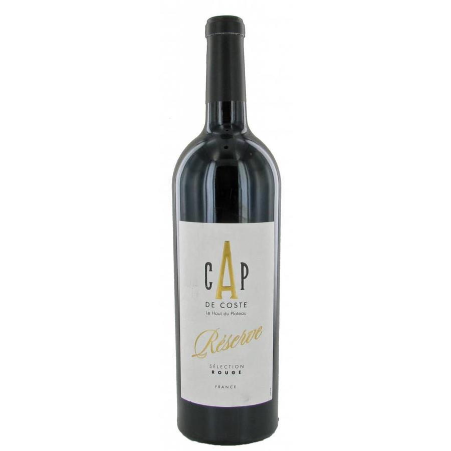 Cap de Coste, Cabernet Merlot, 2018, Languedoc-Roussillon, Frankrijk, Rode Wijn