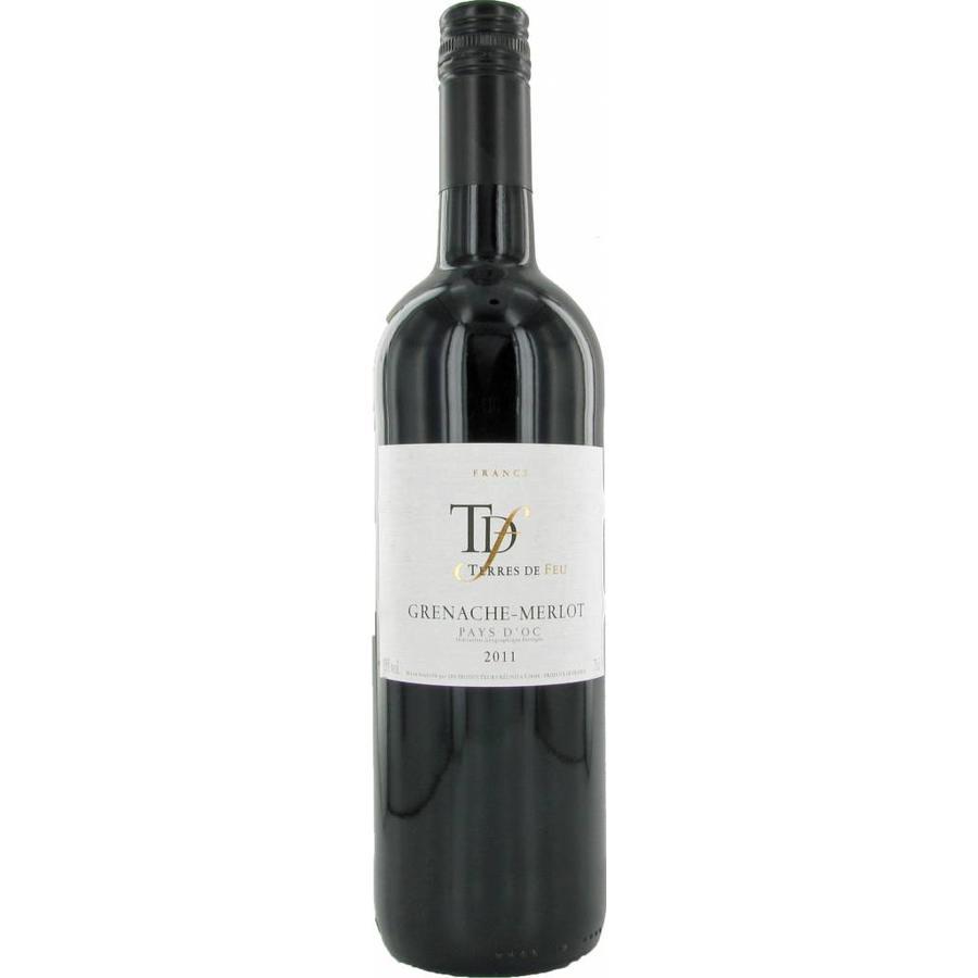 Terres de Feu, Grenache Merlot, 2019, Languedoc-Roussillon, Frankrijk, Rode Wijn