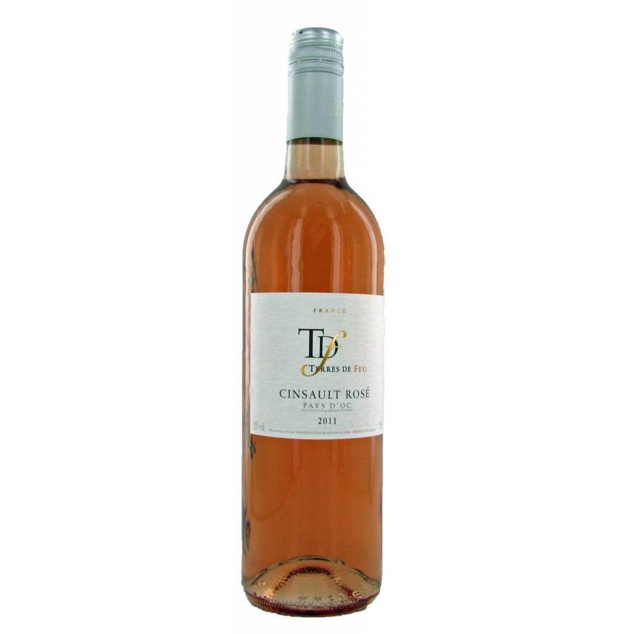 Terres de Feu, Cinsault Rosé, 2018, Languedoc-Roussillon, Frankrijk, Rosé Wijn