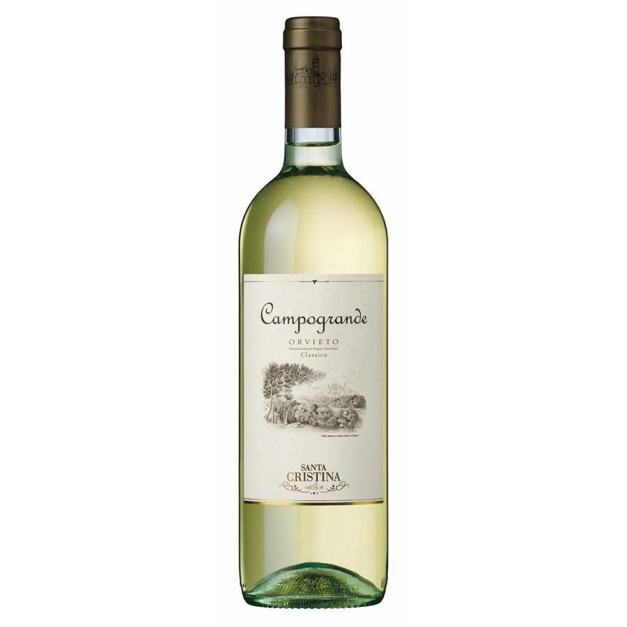 Santa Cristina, Campogrande Orvieto Classico, 2020, Umbrië, Italië, Witte Wijn