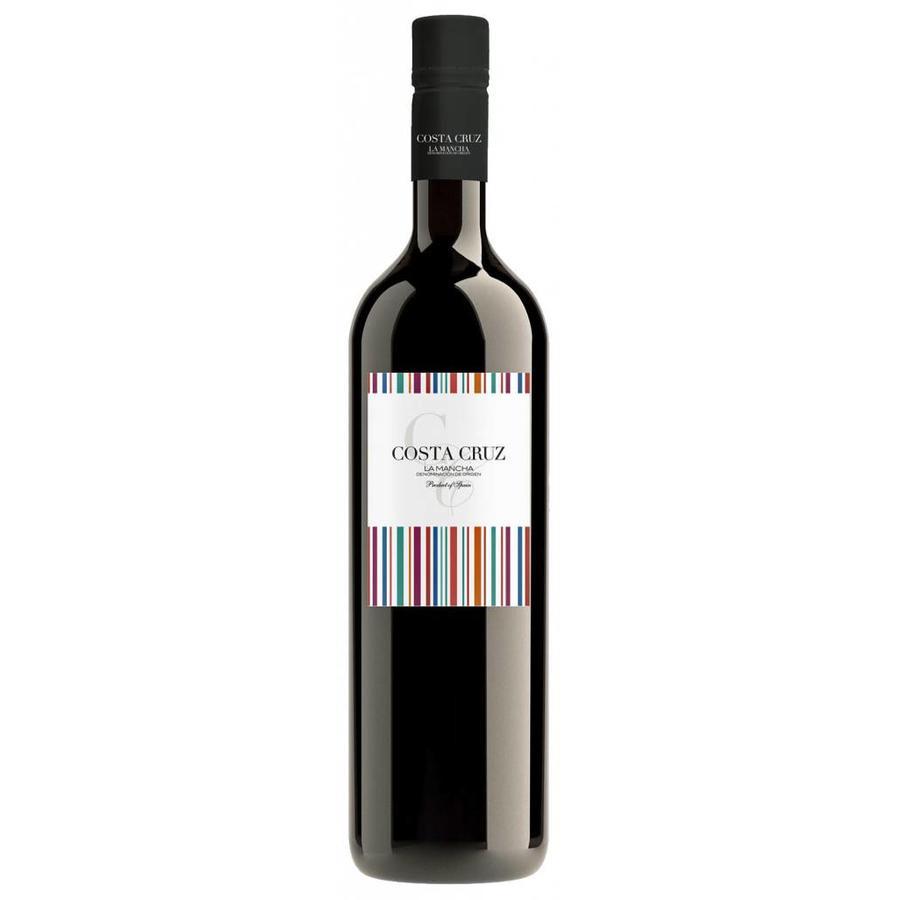 Costa Cruz, Tempranillo Shiraz, 2019, Castilla-La Mancha, Spanje, Rode Wijn