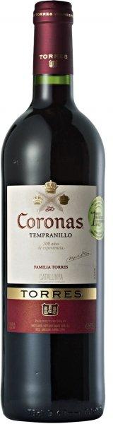 Torres Coronas Tinto 375ml, 2015, Cataloni�, Spanje, Rode Wijn
