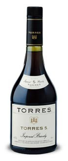 Torres Imperial Brandy 5 jaar, Cataloni�, Spanje, Distillaat