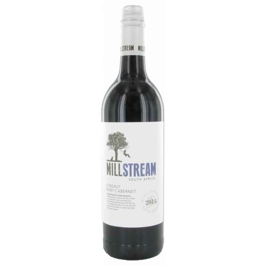Millstream, Cinsault Ruby Cabernet, 2019, Westkaap, Zuid-Afrika, Rode Wijn