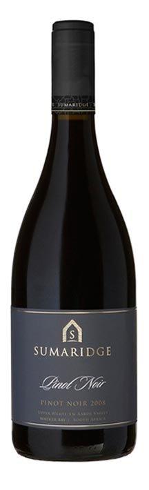 Sumaridge Pinot Noir, 2015, Hemel en Aarde Vallei, Zuid-Afrika, Rode Wijn