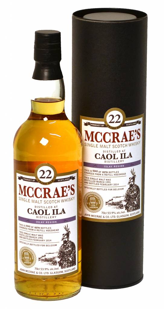 Littlemill Whisky McCrae's 26 years, Lowlands, Groot-Brittani�, Distillaat