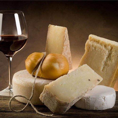 Wijn bij kaas