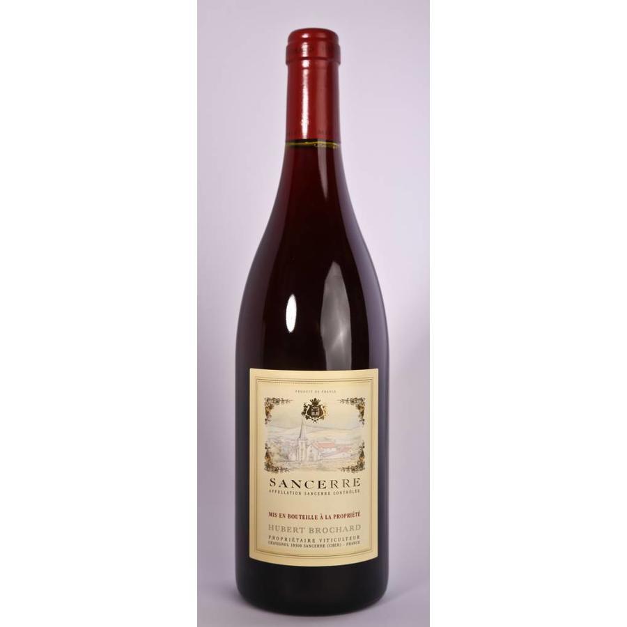 Hubert Brochard Sancerre Vintage, 2017, Pinot Noir, Sancerre, Loire, Frankrijk, Rode Wijn
