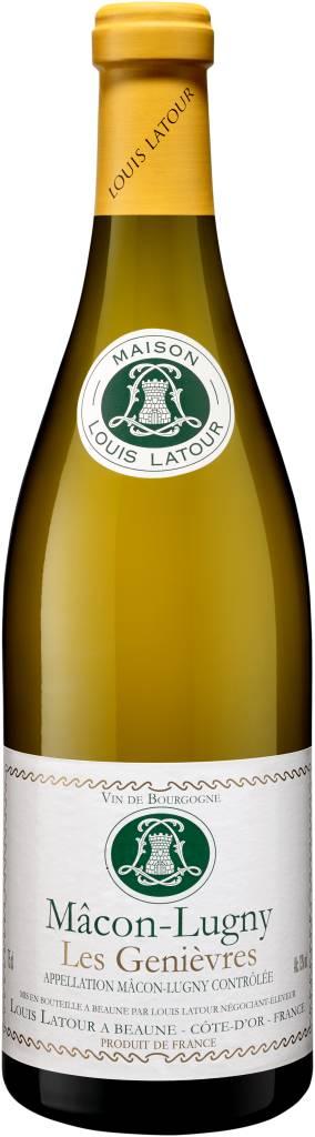 Maison Louis Latour wijnen Macon Lugny Les Genièvres, 2019, Witte wijn