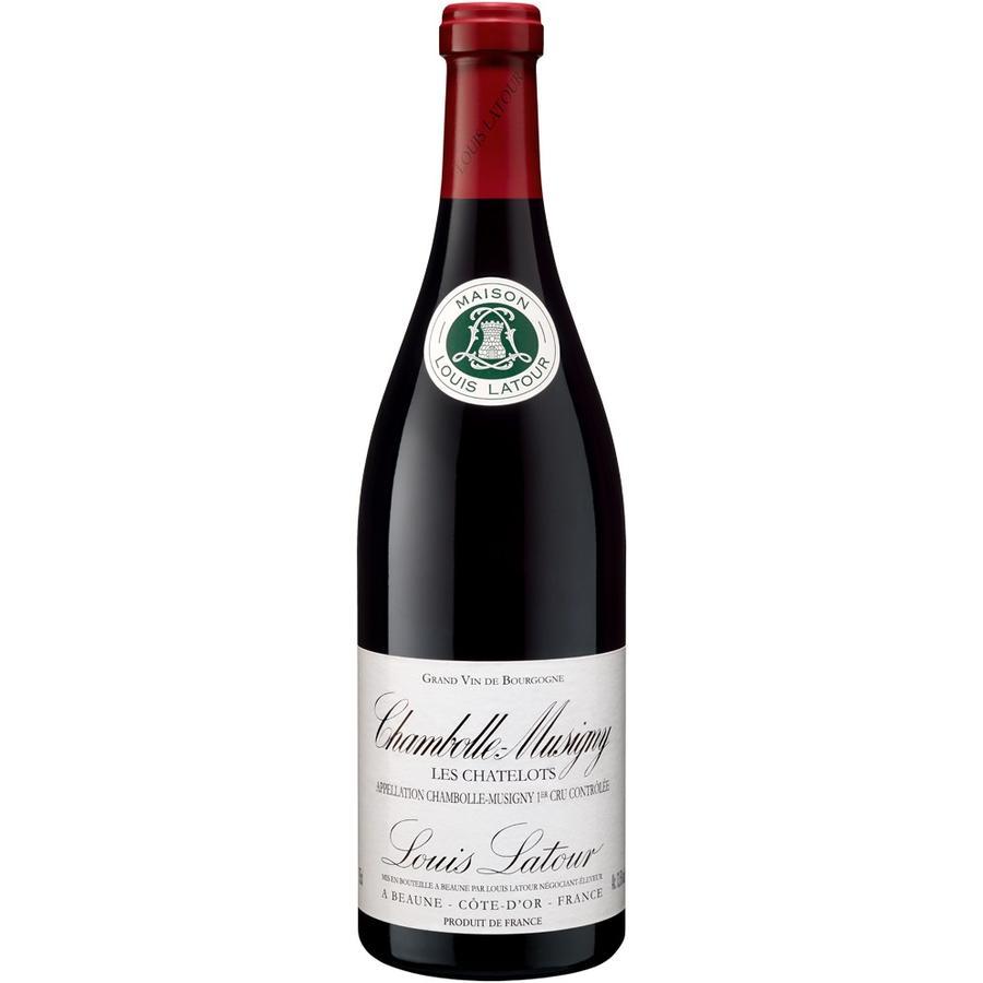 Maison Louis Latour Chambolle Musigny 1er Cru Les Chatelots, 2010, Pinot Noir, Cote de Nuits, Bourgogne, Frankrijk, Rode Wijn
