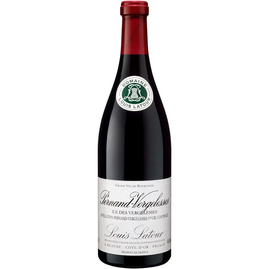 Maison Louis Latour Pernand Vergelesses Premier Cru Ile des Vergelesses, 2016, Cote de Beaune, Bourgogne, Frankrijk, Rode Wijn