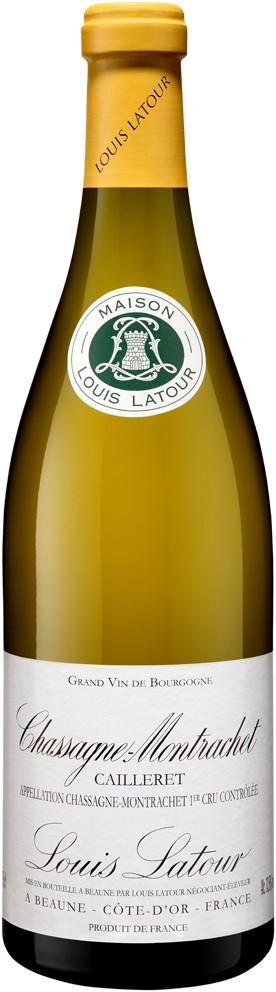 Maison Louis Latour wijnen Chassagne Montrachet Caillerets, 2014, Witte wijn