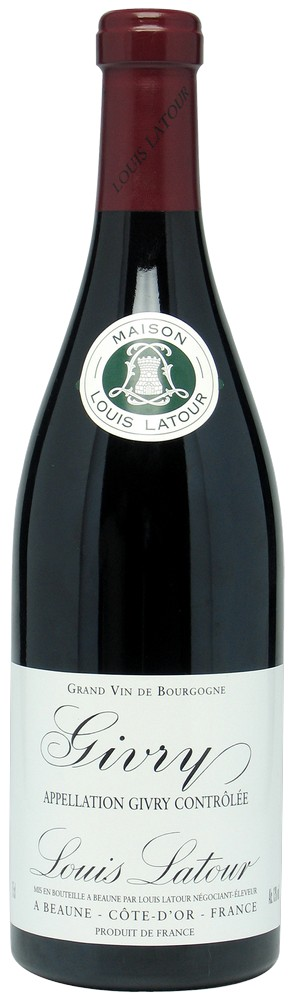 Maison Louis Latour wijnen Givry, 2015, Frankrijk, Rode Wijn