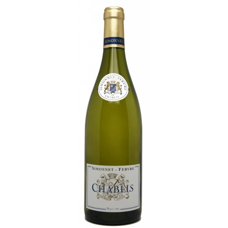 Simonnet Febvre Chablis, Chardonnay, Bourgogne, Frankrijk, Witte Wijn