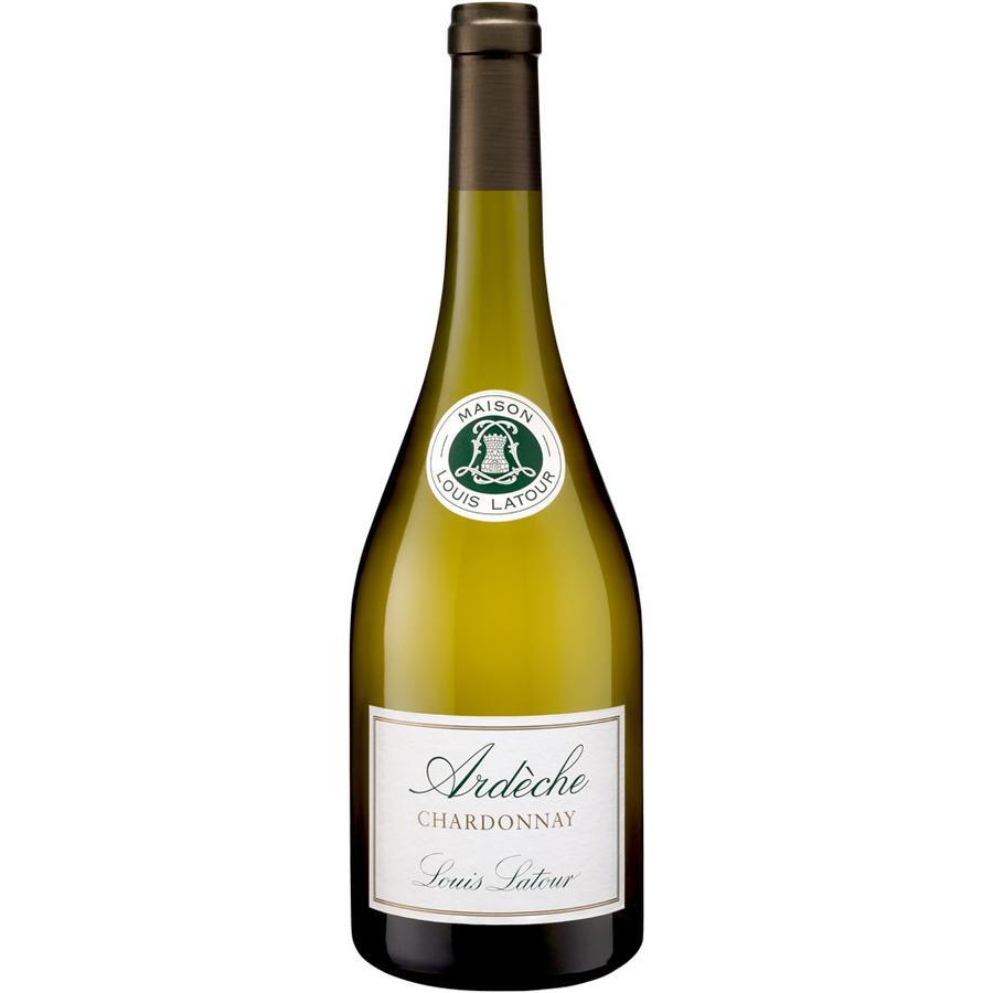 Louis Latour Chardonnay d'Ardèche, 2018, Coteaux de l'Ardèche, Vin de Pays, Frankrijk, Witte Wijn