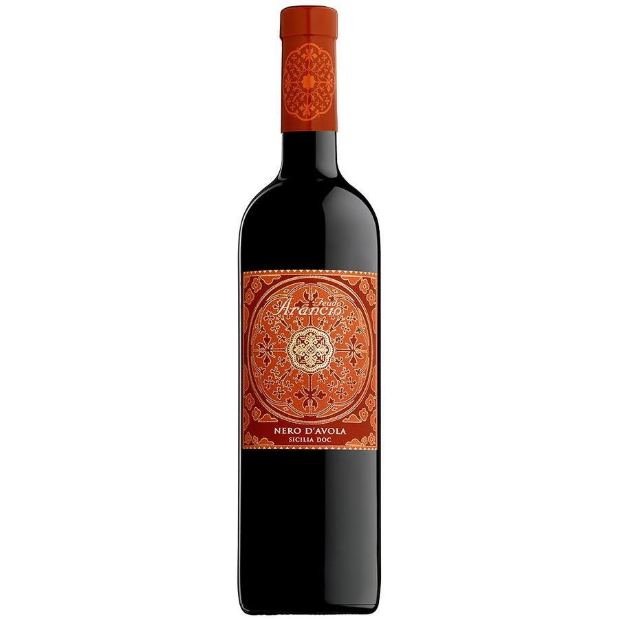 Feudi Arancio Nero d'Avola 2019, Sicilië, Italië, Rode Wijn